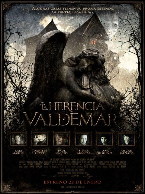 Cartel La Herencia Valdemar