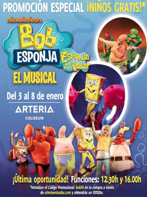 Cartel Bob Esponja